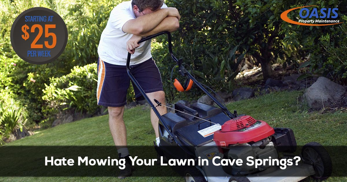 Lawn Care Service in Cave Springs Arkansas