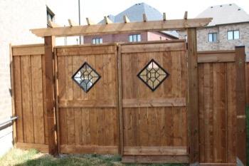 Gate, fence, ornamental