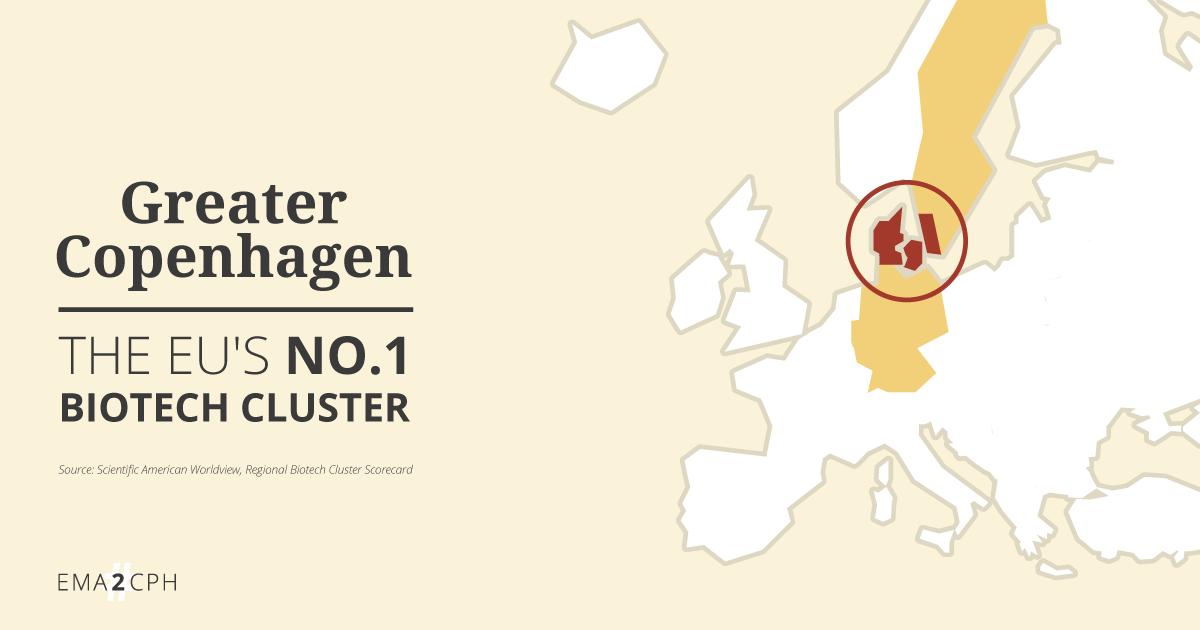 Greater Copenhagen. The EU's No. 1 Biotech cluster