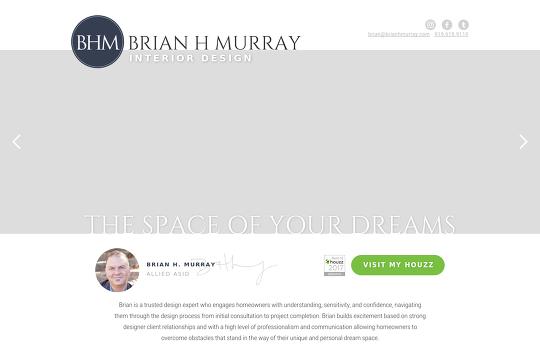 Brian H Murray Interior Design Webflow
