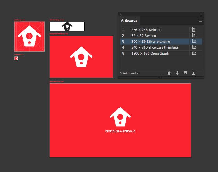 Birdhouse Webflow Assets Template
