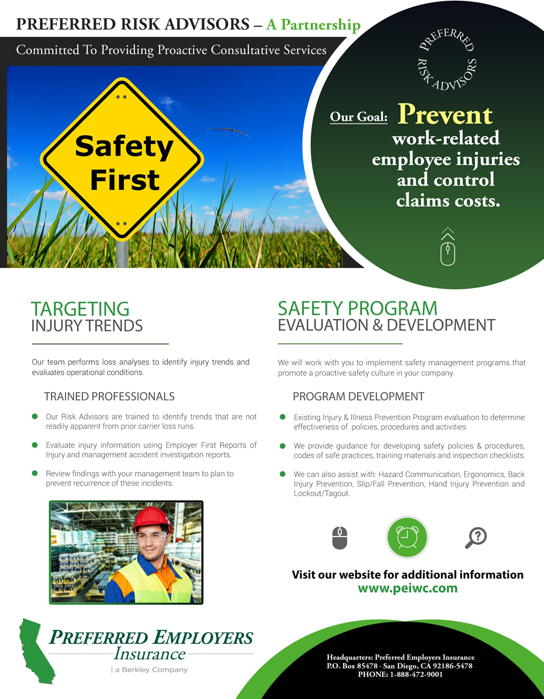 risk advisors workers comp