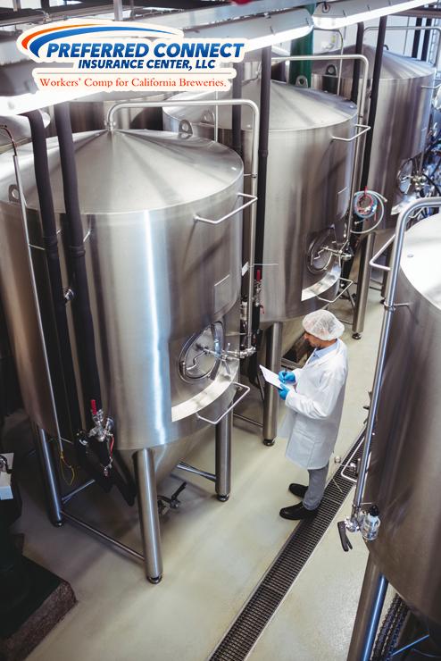 Brewery Employee Checks Equipment To Ensure Injury Prevention