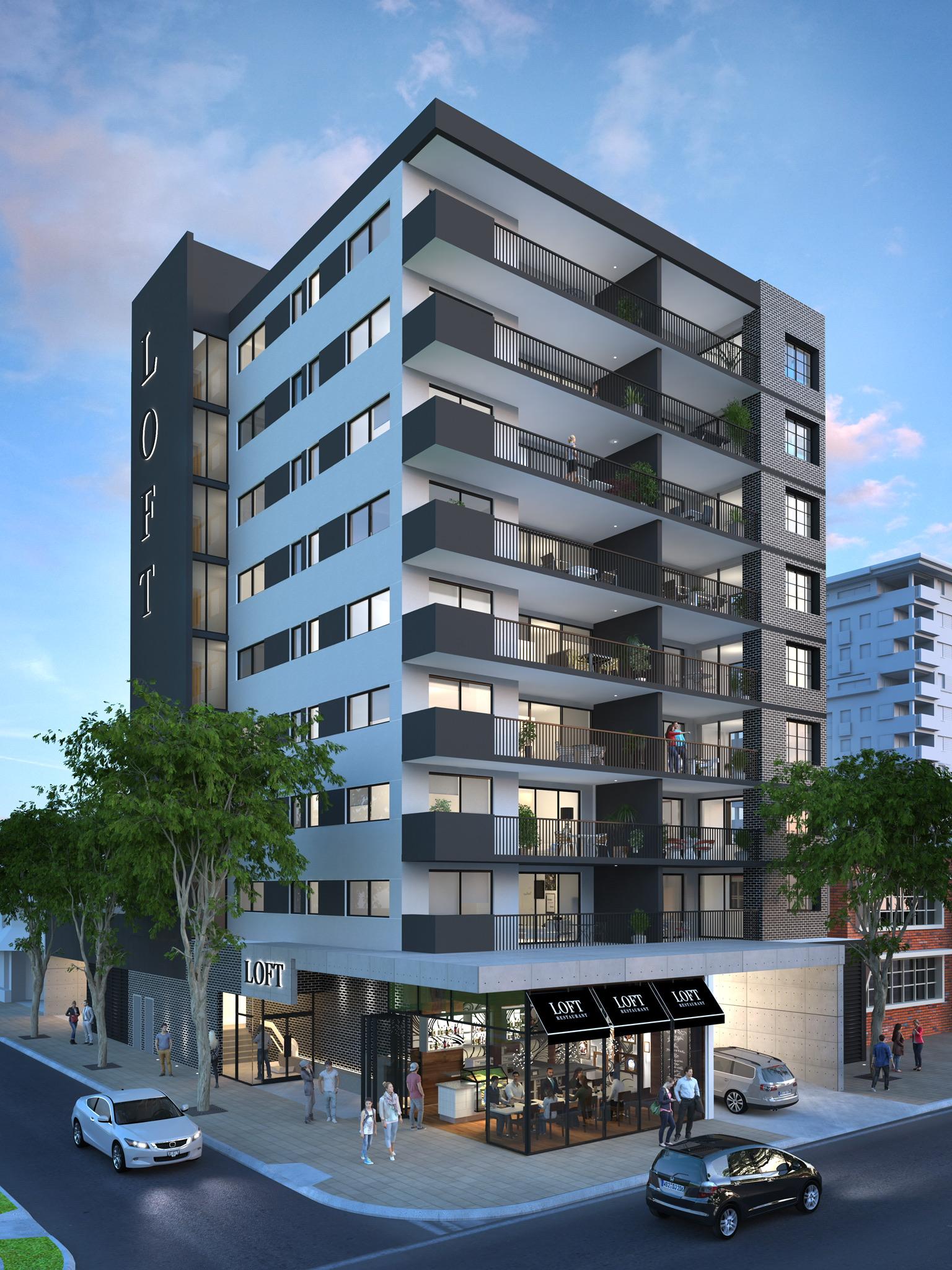 Loft Rockhampton Building Picture