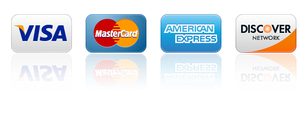 Advanced Window Cleaning accepts all major credit cards