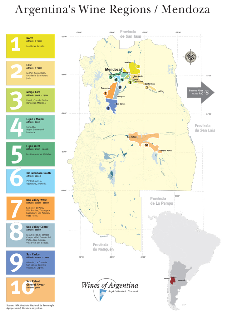 Wines Region Mendoza