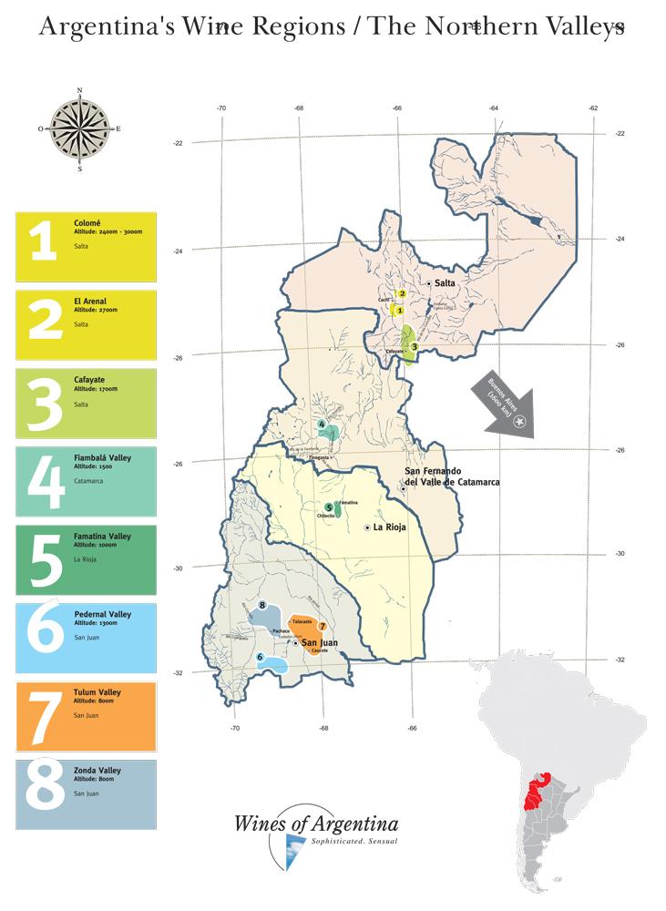 Wines Region Northern Valleys