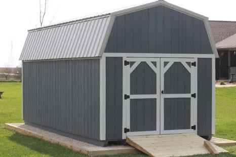 Loft storage barn