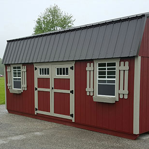 lofted garden sheds ohio cricket valley structures - Garden Sheds Ohio