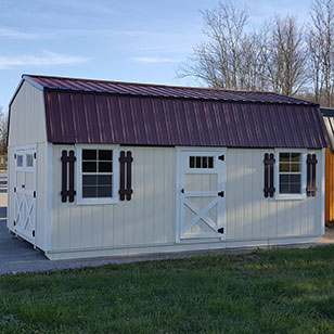 cream garden shed - Garden Sheds Ohio