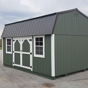 Garden Sheds Ohio lofted garden sheds ohio - cricket valley structures