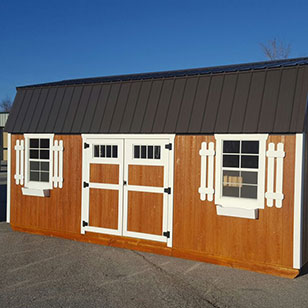 natural garden shed