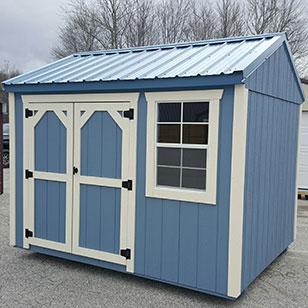blue garden shed - Garden Sheds Ohio