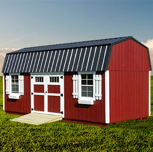 red garden shed - Garden Sheds Ohio