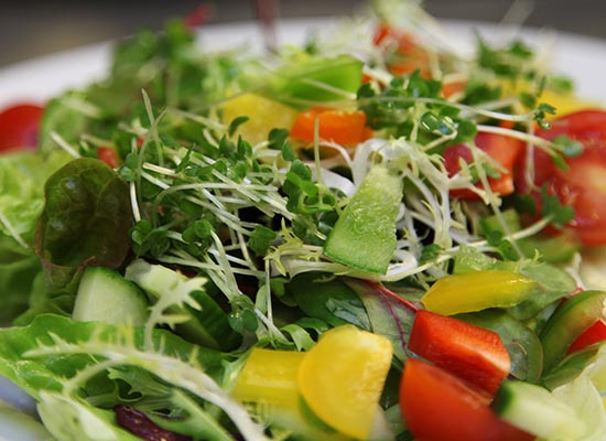 Photo of side salad.