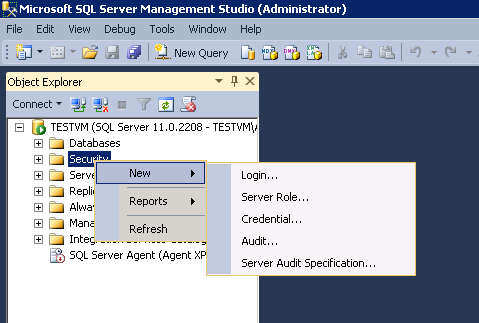 Periscope data docs connecting to a sql server database select sql server authentication sciox Images