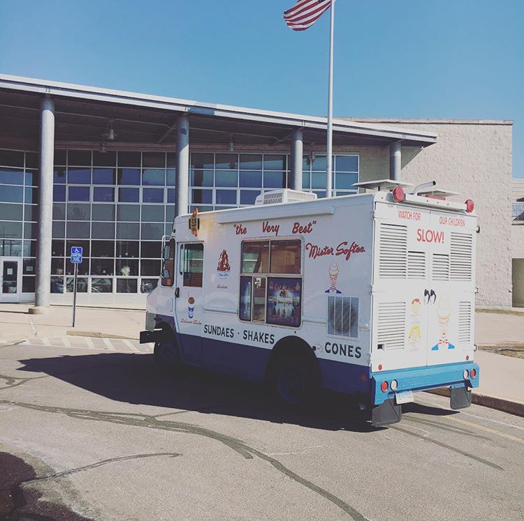 Mister Softee truck in ct