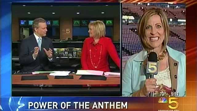 "NBC 5 Sports ""Power of The Anthem"""