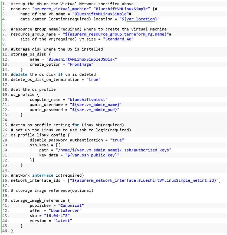 Bootstrap Azure virtual machine with Terraform