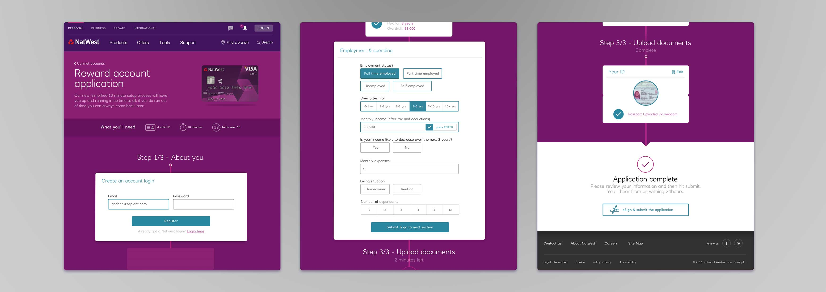 Natwest Business Credit Card Application Images - Card Design And ...