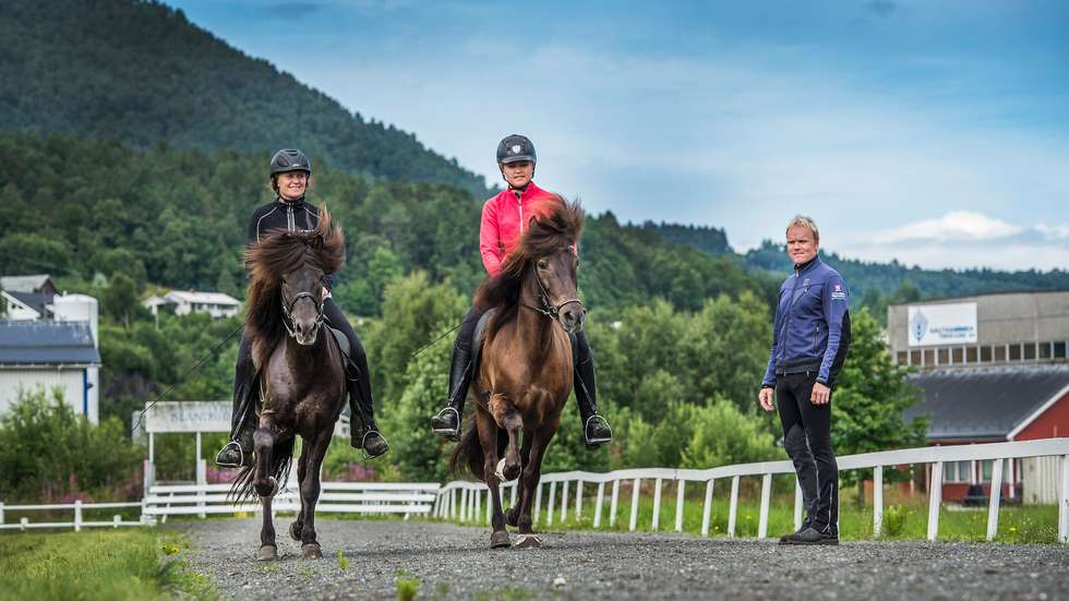 Elisabeth Sylte, Ingrid Marie Larsen og Stian Pedersen