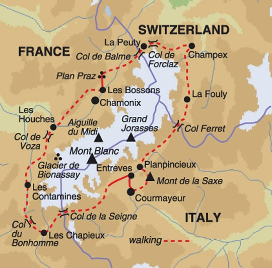 Experience The Cultures And Cuisines Of France Switzerland And Italy While Circling The Spectacular Mont Blanc Massif On The Tour Du Mont Blanc Trail