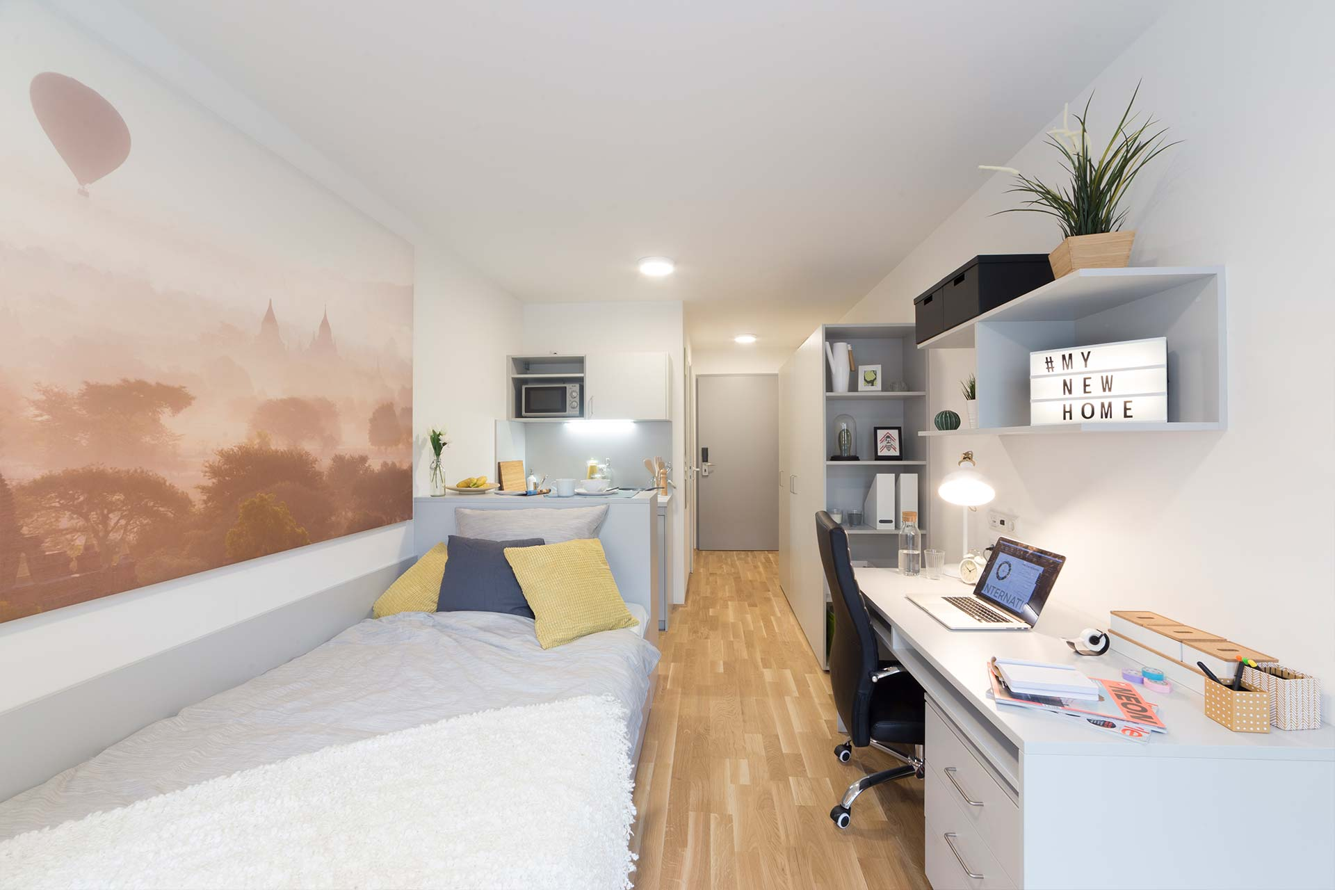 Wien Studentenapartment Innenansicht