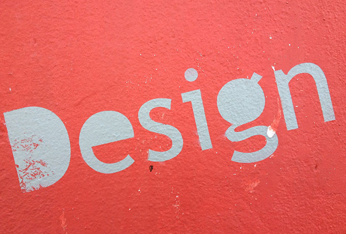 Beautiful typography on a wall