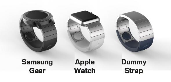 Внешний вид финальной версии SGNL совместимость с Samsung Gear & Apple Watch