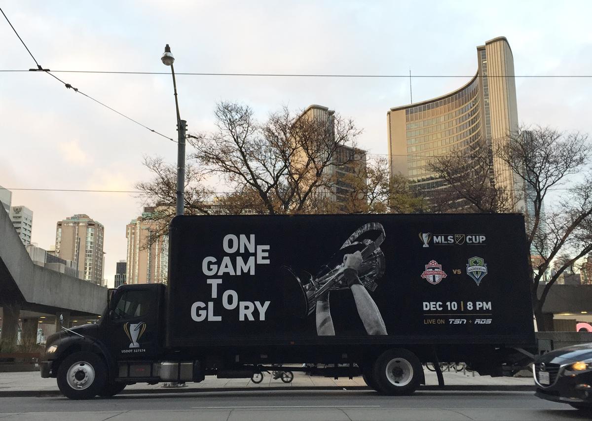 MLS Cup 2016 Truck