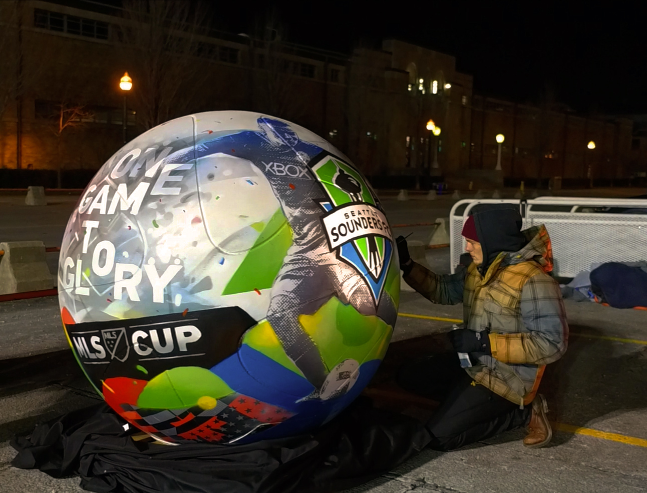 MLS Cup 2016 Giant Soccer Ball
