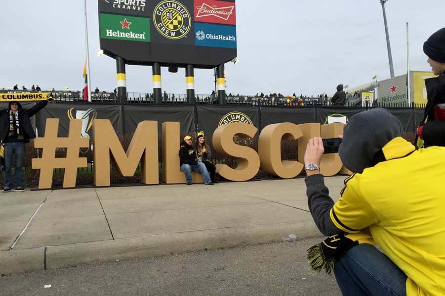 MLS Cup 2015 Letters