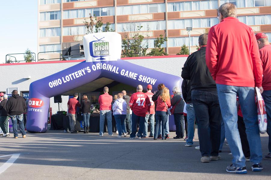 Ohio Lottery Tailgate Line