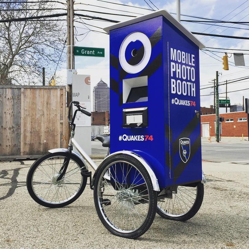 SJE Mobile Photo Booth Bike