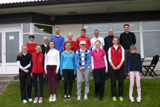 Adult/Girl competition held at Tain Golf Club on the 27th April