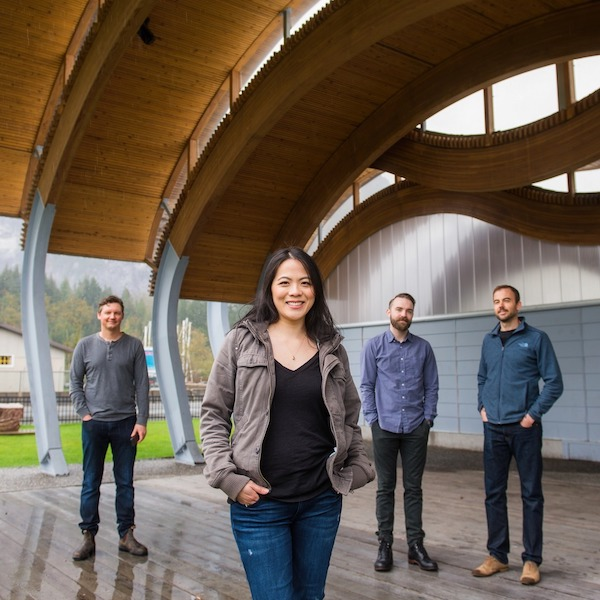 The Paperclip Team in Squamish