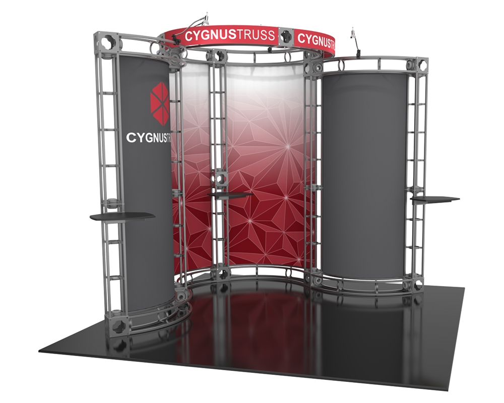 Cygnus-2 10 x 10 Corner Orbital Truss Display