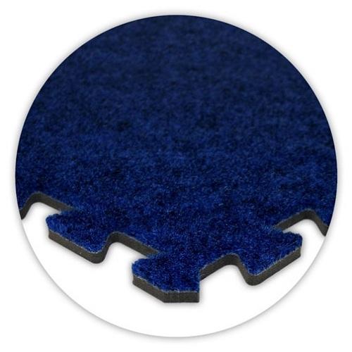 Premium Soft Carpet in Royal Blue