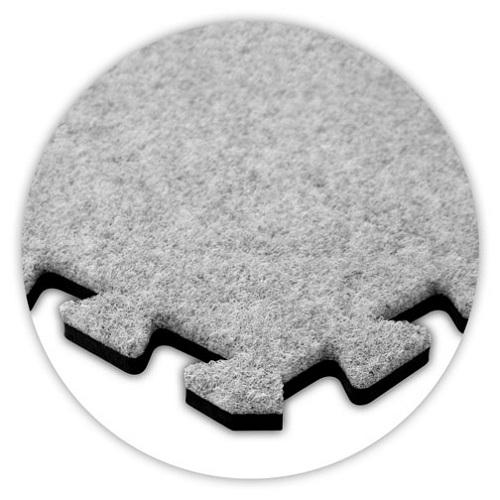 Premium Soft Carpet in Smoke