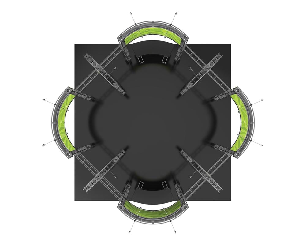 Optimus 20 x 20 Orbital Truss