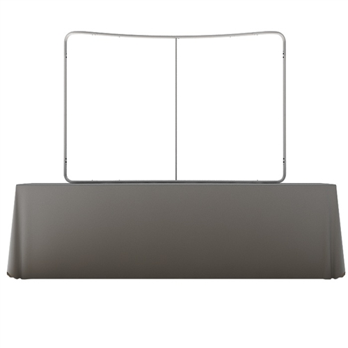 Waveline 8ft Curved Table Top Frame