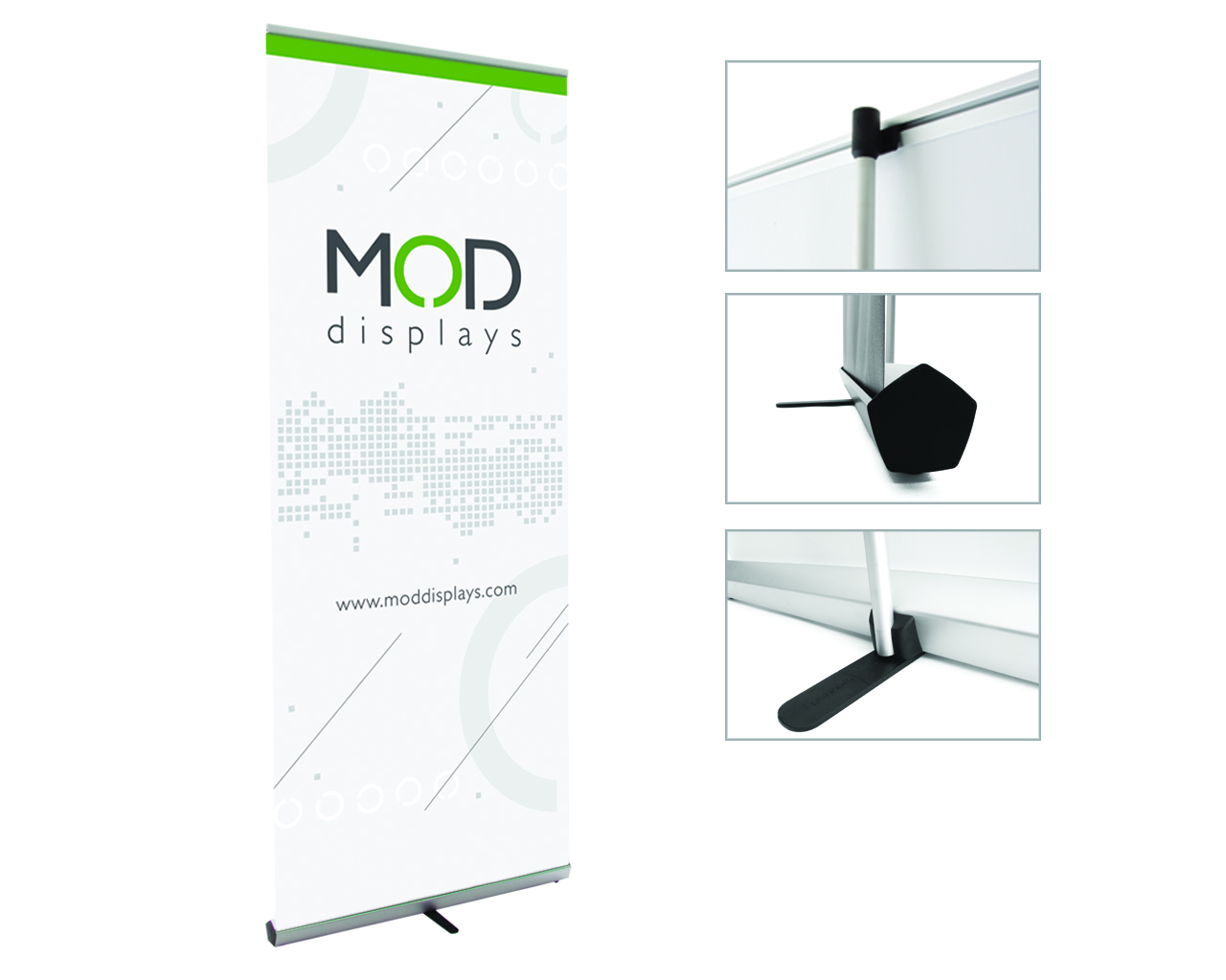 Penta Retractable Banner Stand