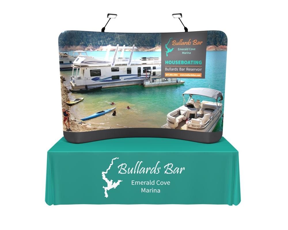 Waveline 8ft Tabletop Kit