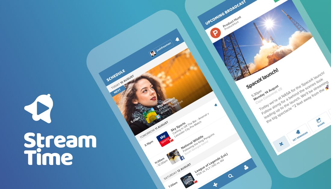 Stream Time modern day TV guide for live streaming