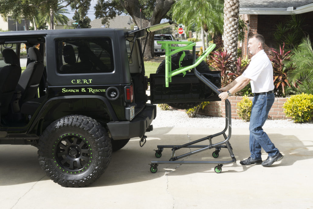 Jeep Wrangler Electric Top >> Jeep Hardtop Hoist - What Sets Us Apart | TopLift Pros
