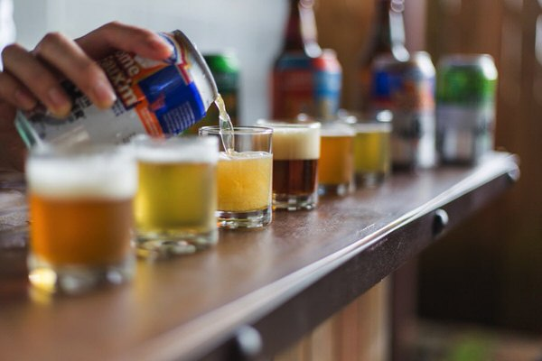 Altair Global - Beer flights from Houston's own Saint Arnold Brewing Co, Karbach, & 8th Wonder Breweries