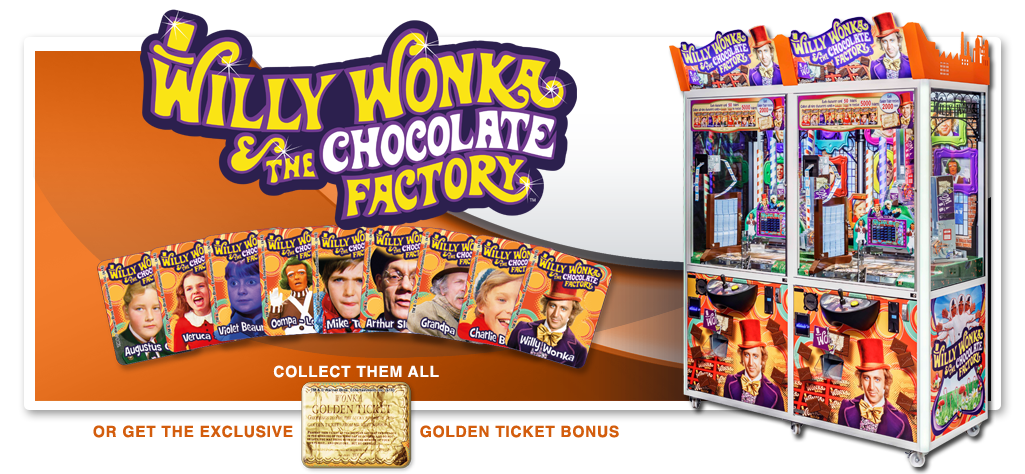 WILLY WONKA - 2 Player