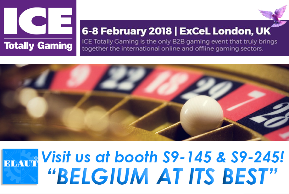 Visit us at ICE LONDON 2018 for ICE Totally Gaming