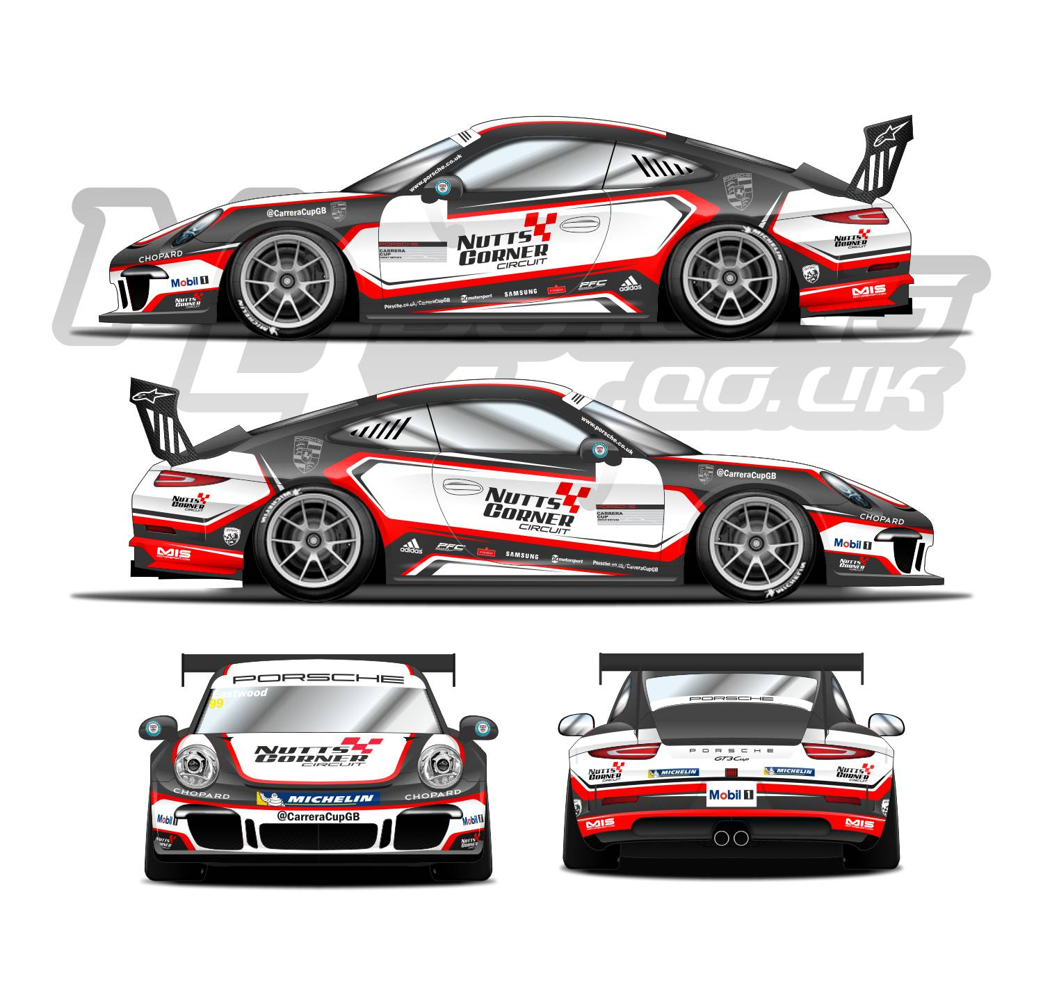Lancer Gt 2018 >> Livery Design | MDM Designs