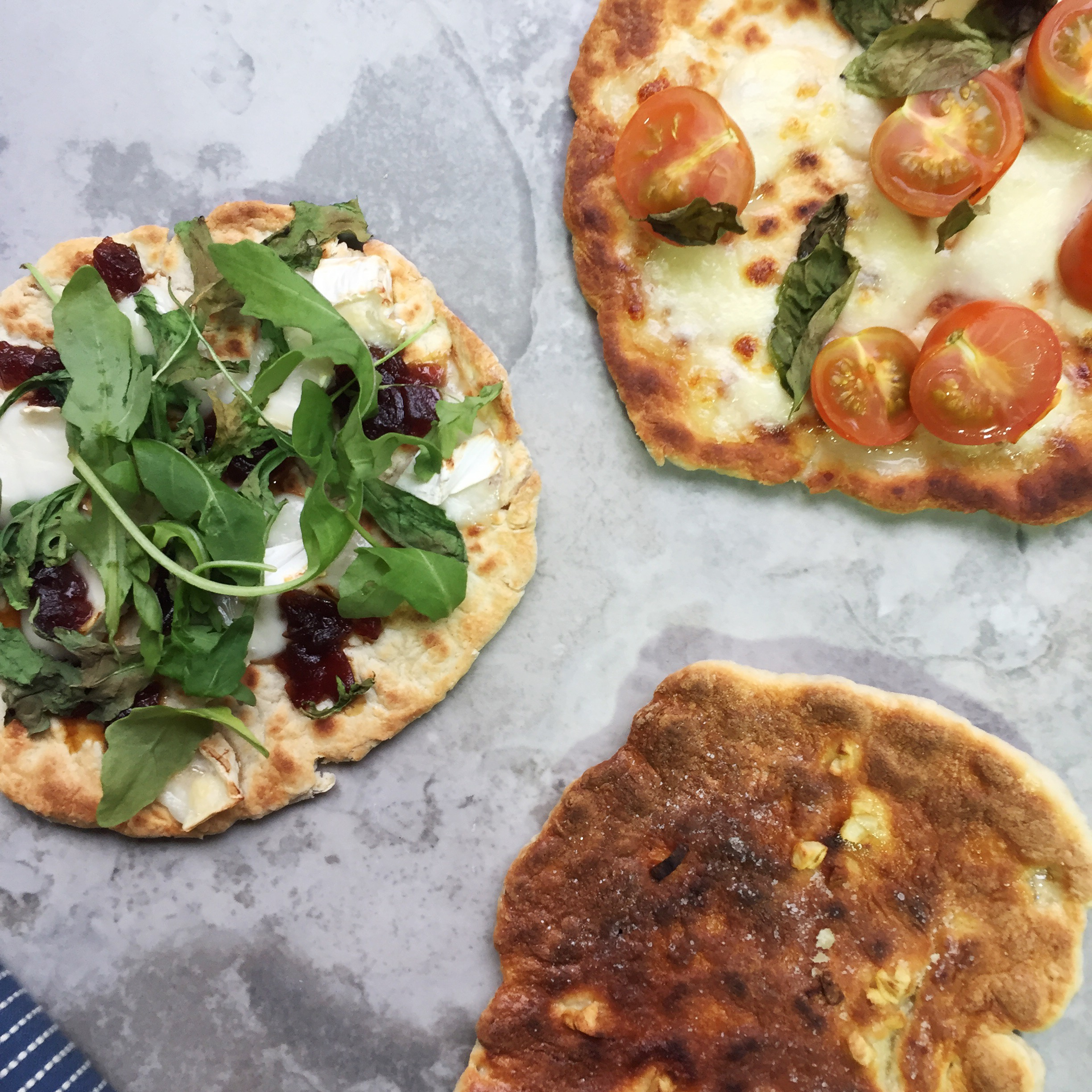 Super Easy Flatbreads